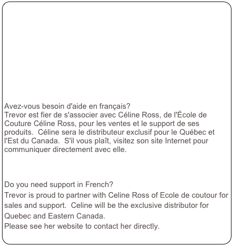 Avez-vous besoin d'aide en français?
