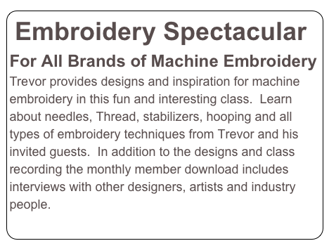 Embroidery Spectacular
