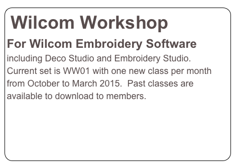 Wilcom Workshop